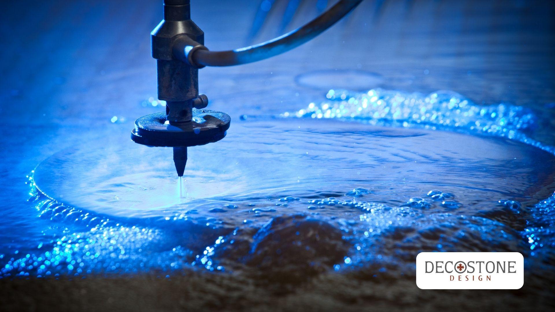 We Have a New Waterjet Machine at Decostone Design!